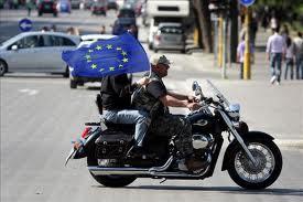 bandera moto UE